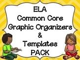 ELA-English Language Arts-Reading COMMON CORE Graphic Organizers & Templates