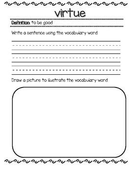 ELA Guidebook Class Dictionary Rumpelstiltskin/Sleeping Beauty Grade 1