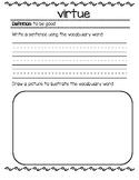 ELA Guidebook Class Dictionary Rumpelstiltskin/Sleeping Be