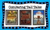 ELA Guidebooks Tall Tales Comparison Graphic Organizer