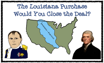 ELA Guidebooks The Louisiana Purchase Differentiated Vocab