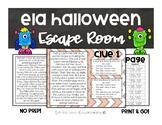 ELA Halloween Escape Room