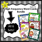 High Frequency Word Cards Bundle