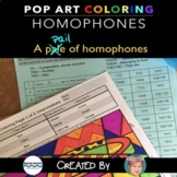 Free Homophones Coloring Sheets - Fun Summer Activity