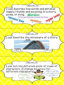 ELA I Can Statements {2nd Grade} {Common Core} {Florida Edition}