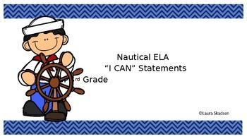 """ELA  """"I Can"""" Statements"""