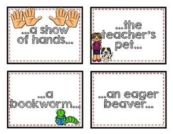 ELA - Idioms - Mini Lesson