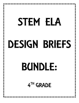 ELA Informational Text STEM Activities: 3rd and 4th Grade