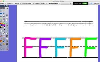 ELA / Integrated ELD: Letter Formation