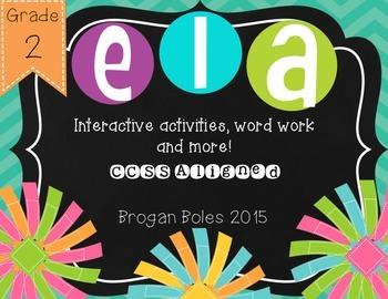 ELA Interactive Activites {CCSS Aligned}