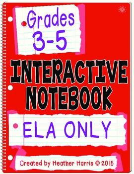 ELA Interactive Notebook:
