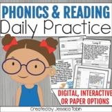 Interactive Reading Notebook- Daily ELA Skills and Phonics Focus