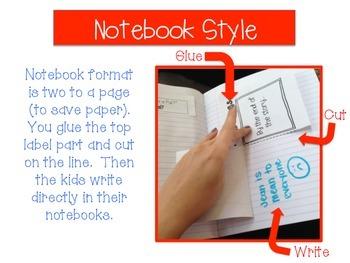 ELA Interactive Notebook Foldables