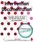 ELA Intervention Documentation