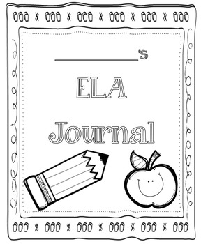 ELA Journal Cover