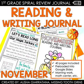 ELA Journal (November)