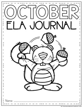 ELA Journal (October)