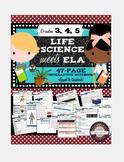 Interactive Science Notebook Grades 3-5 ELA & LIFE Science