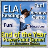 End of the Year ELA Reading Review Game