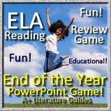 ELA Reading Review Game Smarter Balanced, CAASPP, FSA, PARCC, NWEA MAP