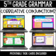 ELA Language Common Core Task Cards 5th Grade CCSS L.5.1 {Parts of Speech}