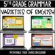 ELA Language Common Core Task Cards 5th Grade {L.5.3 Combining Sentences & More}
