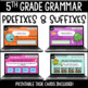 ELA Language Common Core Task Cards 5th Grade {L.5.4 Context Clues & More}