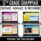 ELA Language Common Core Task Cards 5th Grade {L.5.5 Figur