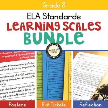 ELA Learning Scales Bundle 8