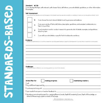 ELA Learning Scales Bundle 7