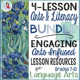 Arts Integration Language Arts Lesson Bundle