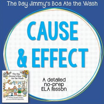 ELA Lesson Plan - Cause and Effect