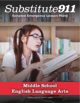 ELA Lesson Plans for Substitute Teachers