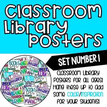 6cf53beb05d5 ELA/Library Reading Posters