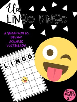 ELA Lingo Bingo