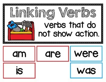 ELA - Linking Verbs - Mini Lesson