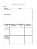 ELA/Literacy Backwards Design Common Core Lesson or Unit P