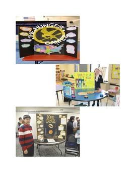 ELA Literacy Fair Novel Study Project!