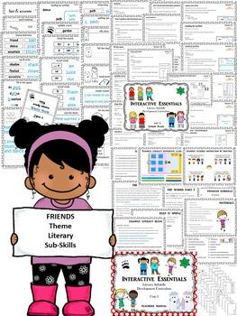Build a Better Reader! Literary Sub-skill Development - Friends Theme (Unit 3)