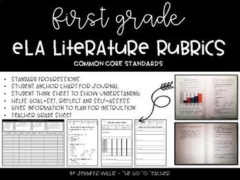 ELA Literature Rubrics for First Grade
