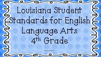 ELA Louisiana Student Standards