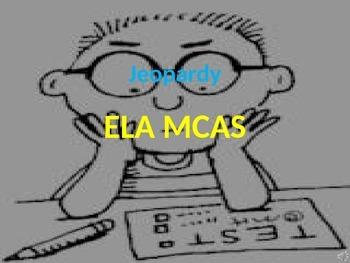 ELA MCAS Jeopardy Game