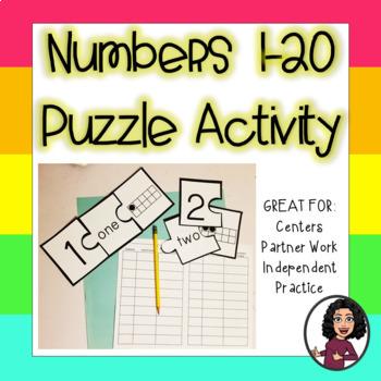 ELA & Math PUZZLE Activity BUNDLE!