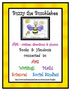 ELA, Math, Science & Social Studies with 'I Believe I Can' Bumblebee Art