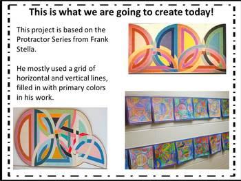 ELA & Math integrated Geometry and Measurement Art- Protractor Series