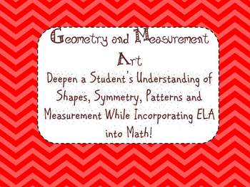 ELA & Math integrated Geometry and Measurement Art- Protra