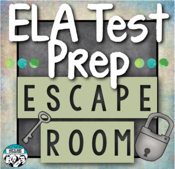 ELA Test Prep Escape Room