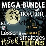 ELA Horror Mega Bundle   Language Arts Middle School & Hig