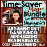 Language Arts MEGA Bundle CCSS Middle & High School
