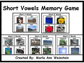 ELA Memory Games Bundle
